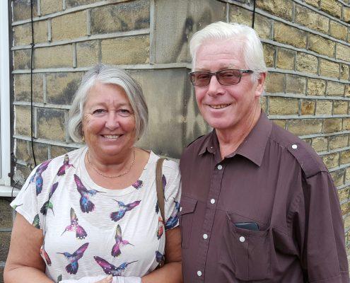 Keith & Barbara